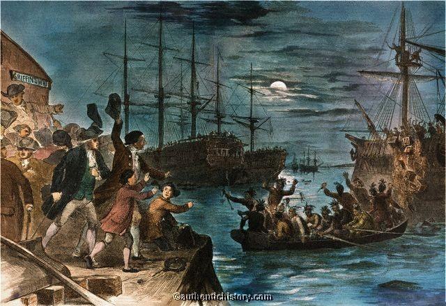 The Original Tea Party - December 16, 1773
