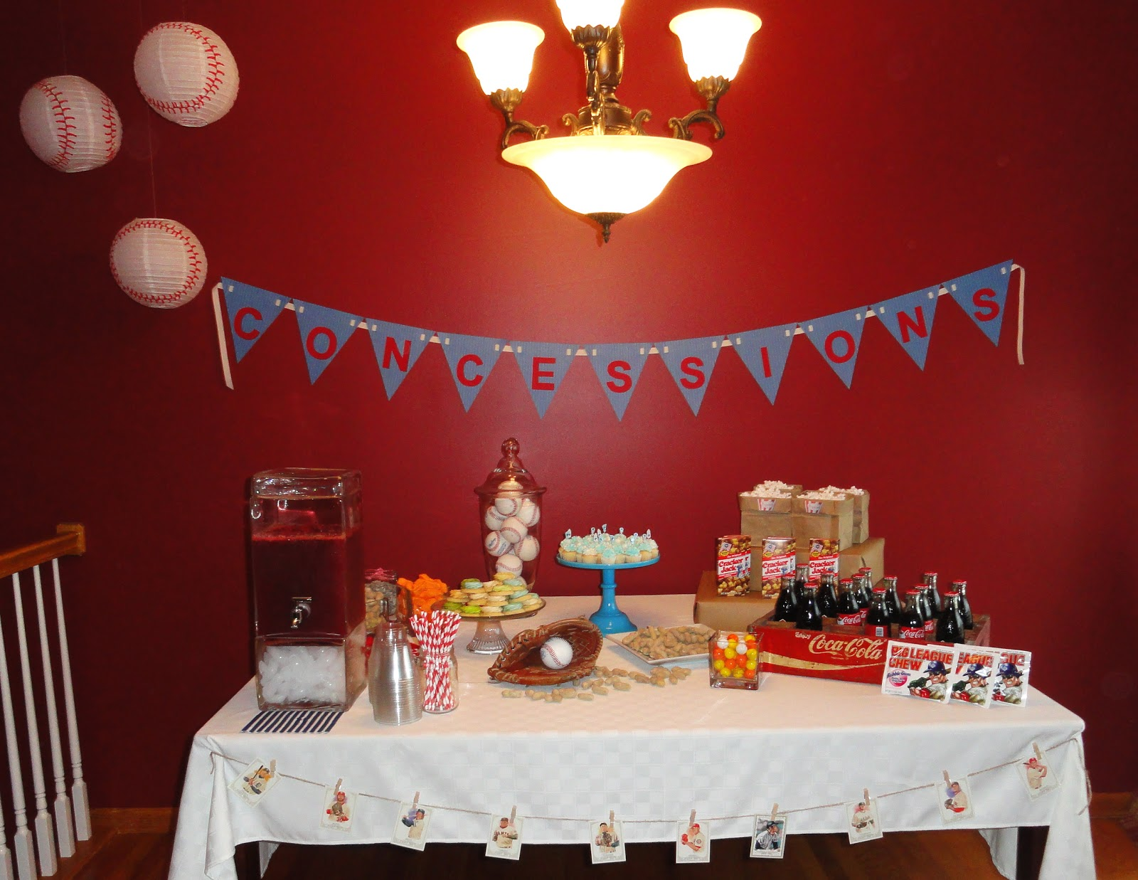 Oxford Impressions Baseball Themed Baby Shower