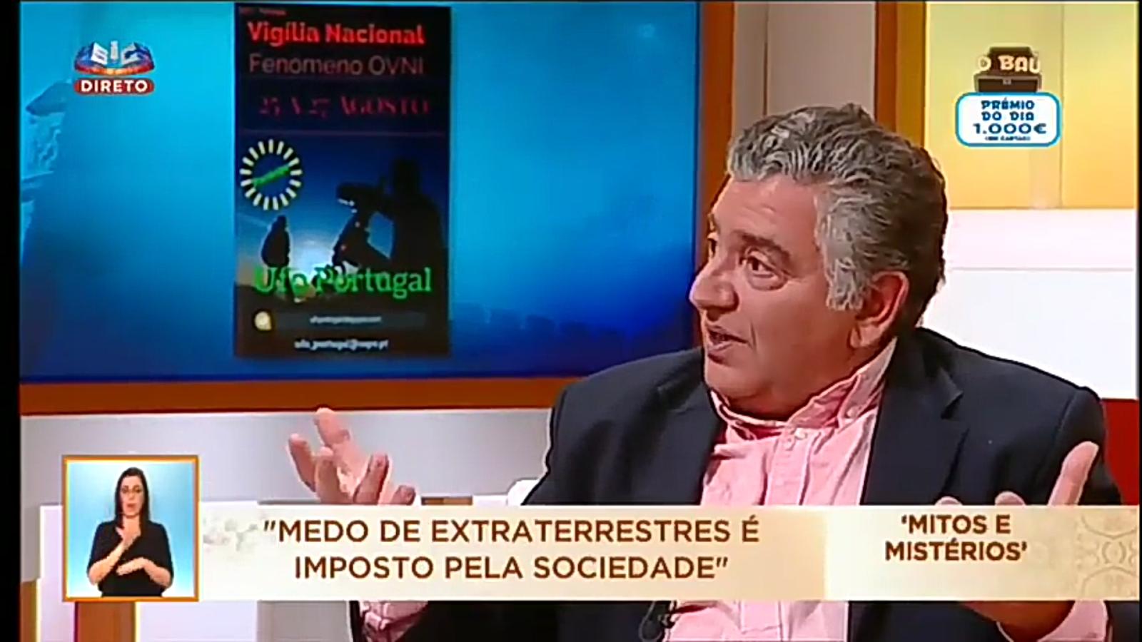 Dr. Luís Morais na SIC