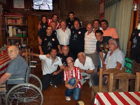 Cena con Lombardi, Villadeamigo y Meseri