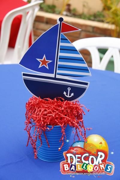 Parties 39 n more baby shower nautico barco todos a bordo - Decoracion de barcos ...