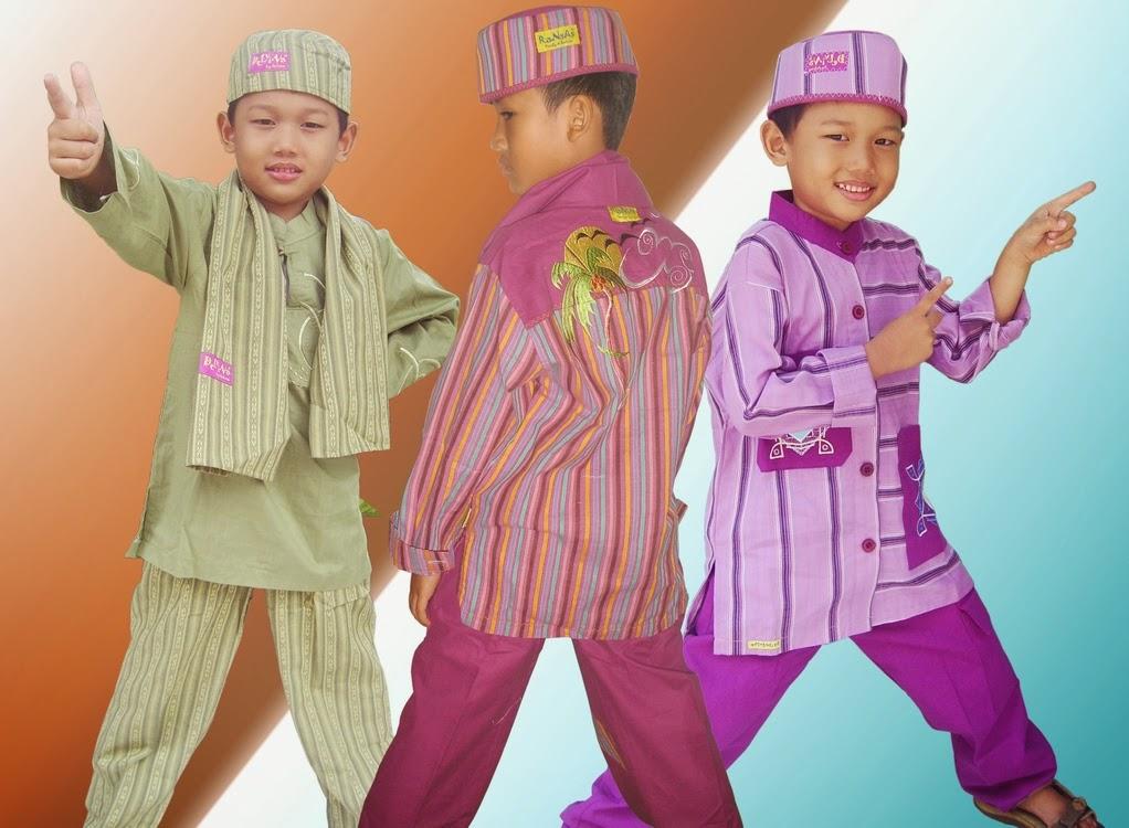 Gambar baju muslim anak model terbaru saat ini