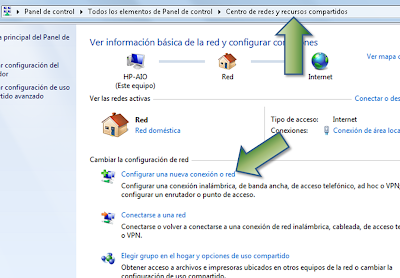 Configurar VPN USA en Windows 7 - Paso 1