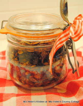 Spicy Cranberry Granola