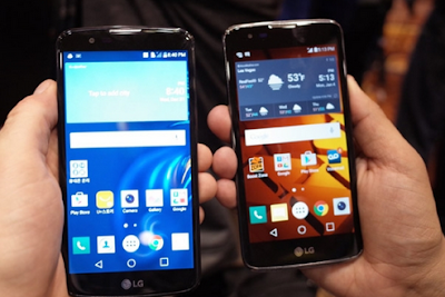 CES 2016 LG presenta sus Smartphones de la serie K
