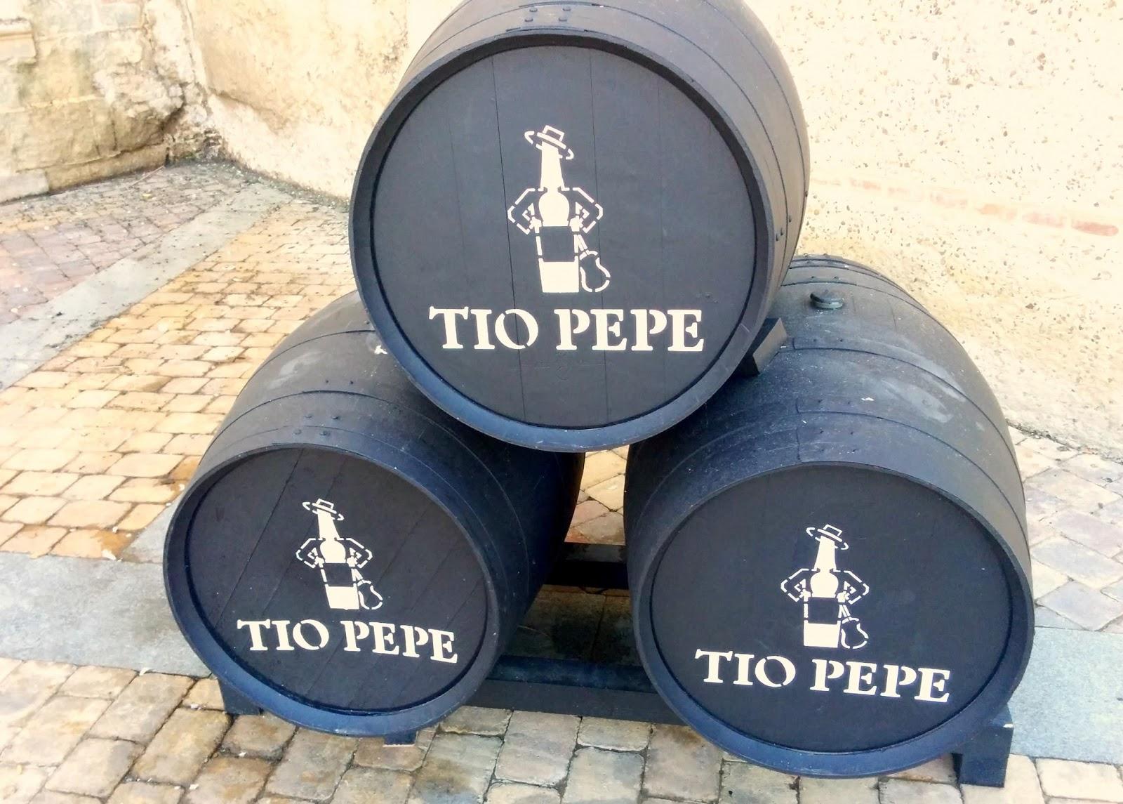 Tio Pepe in Jerez  |  Postcard from Andalucía: Jerez + Carmona  on afeathery*nest  |  http://afeatherynest.com
