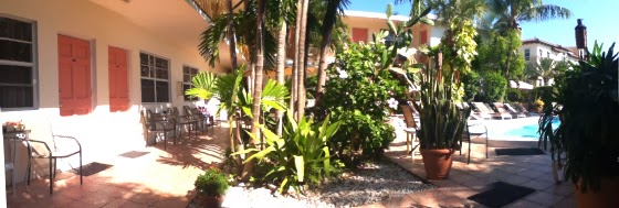 Motel Shore Haven Resort in Ford Lauderdale by the Sea, Florida USA