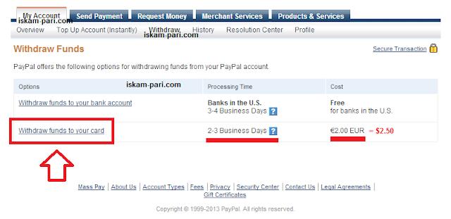 Teglene na pari ot PayPal 2