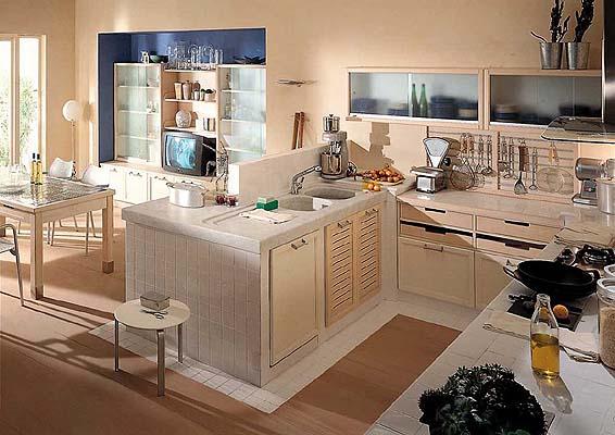 Consigli per la casa e l 39 arredamento cucine in muratura - Cucine americane foto ...