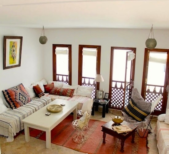 Introducing new worlds with a shrug insides airbnb morocco for Airbnb marrakech