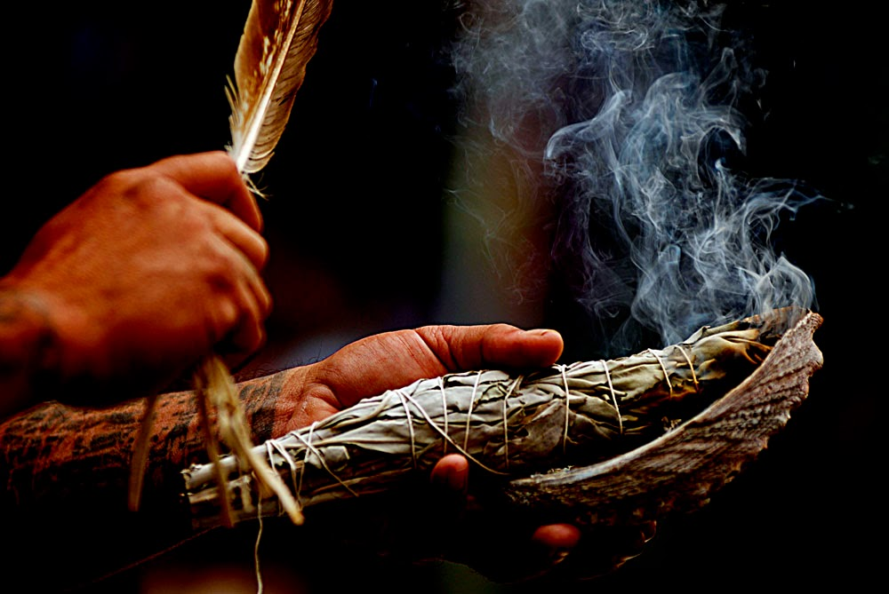 Learn how to perform a sage cleansing