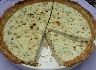 From Kirsten's Kitchen to Yours: Herbed Ricotta Savory Tart
