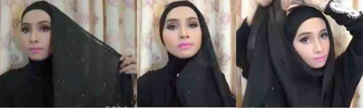 inspirasi hijab hari raya
