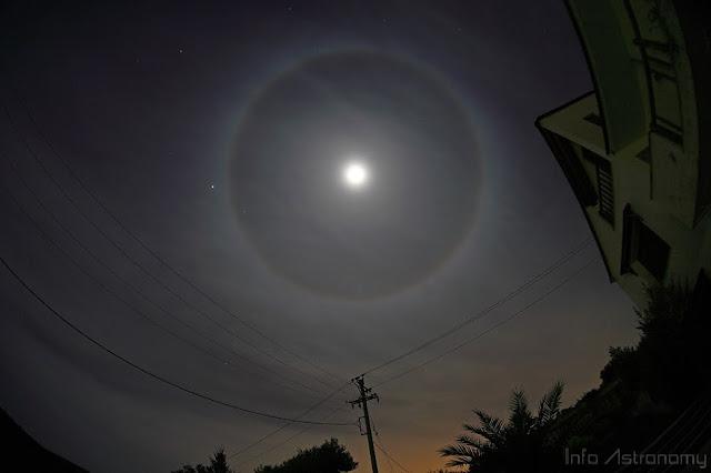 Lihat Halo Bulan di Blue Moon Nanti Malam