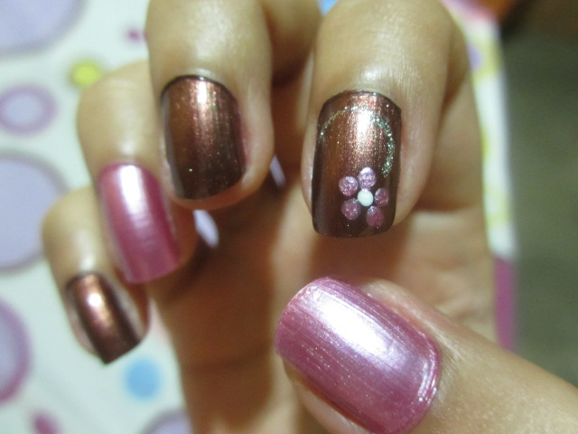 Liss Color Maquillaje ♥: Manicura Chocoberry ♥