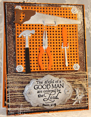 Our Daily Bread Designs, Good Man, Workshop Tools, Pegboard and Hooks, Antique Labels and Borders, Vintage Ephemera Collection, Designed by Robin Clendenning