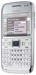 With the Nokia E72, Mobiles Phone Android