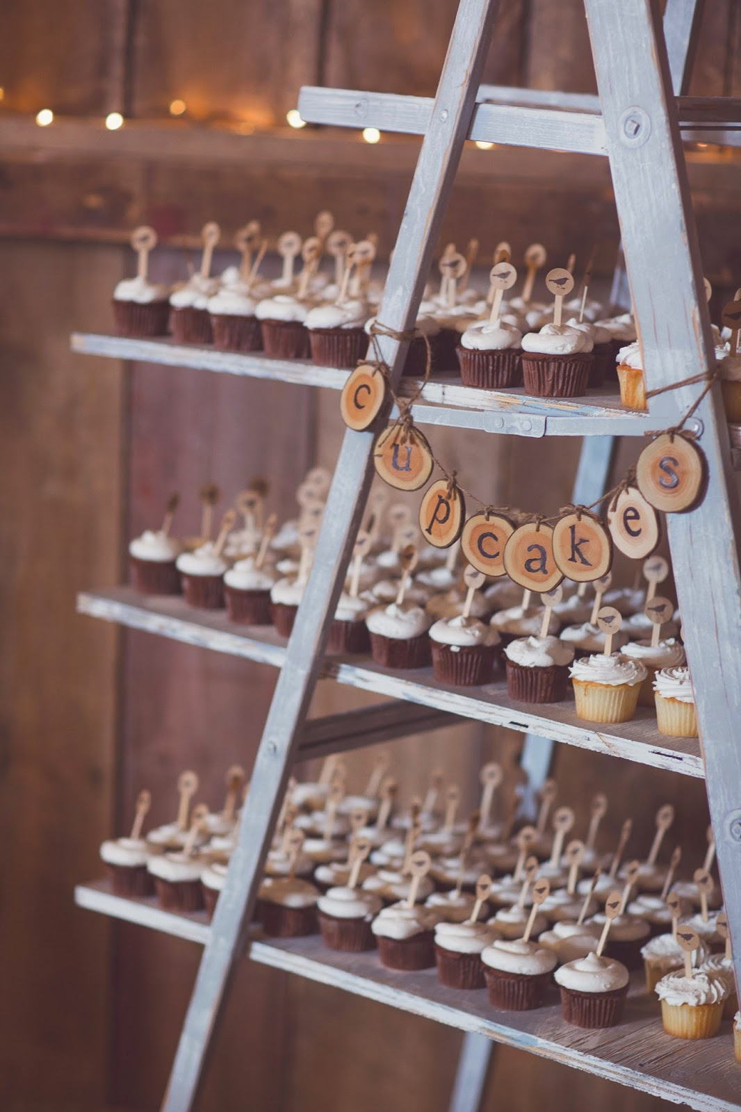 cupcake ladder display