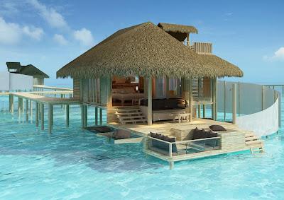 ocean, retreat, vacation, luxury