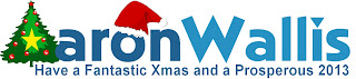 Aaron Wallis Sales Recruitment Xmas Logo