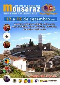 Monsaraz- Festas em Hª do Sr Jesus dos Passos 2014- 12 a 15 Setembro