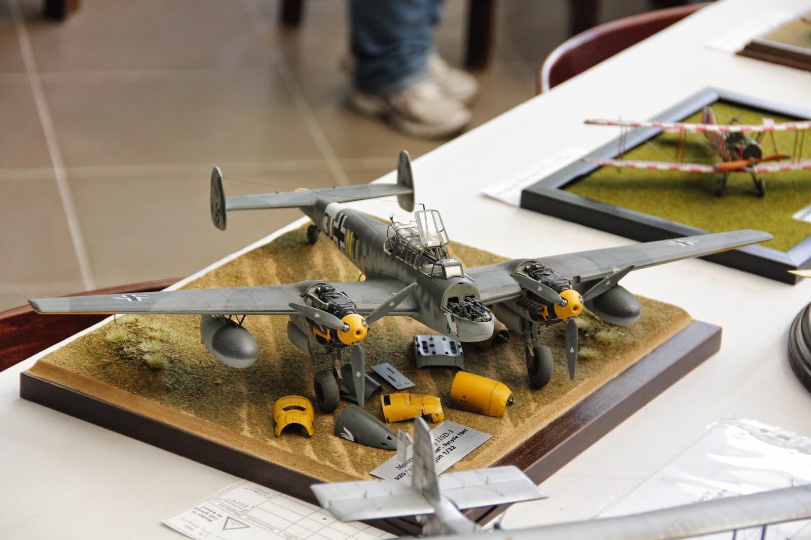 Moson Model Show 2014 - Messerschmitt BF-110, gosu-wot.com