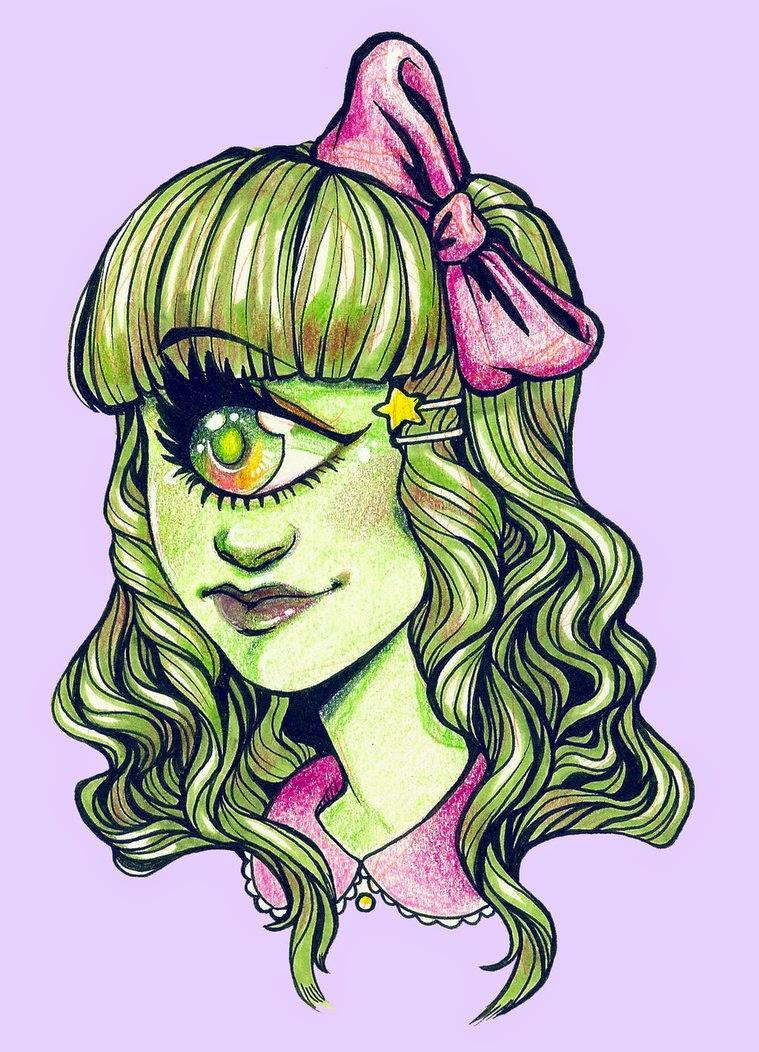 lazo rosa de iris clops