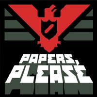 "Logo ""Papers Please"""