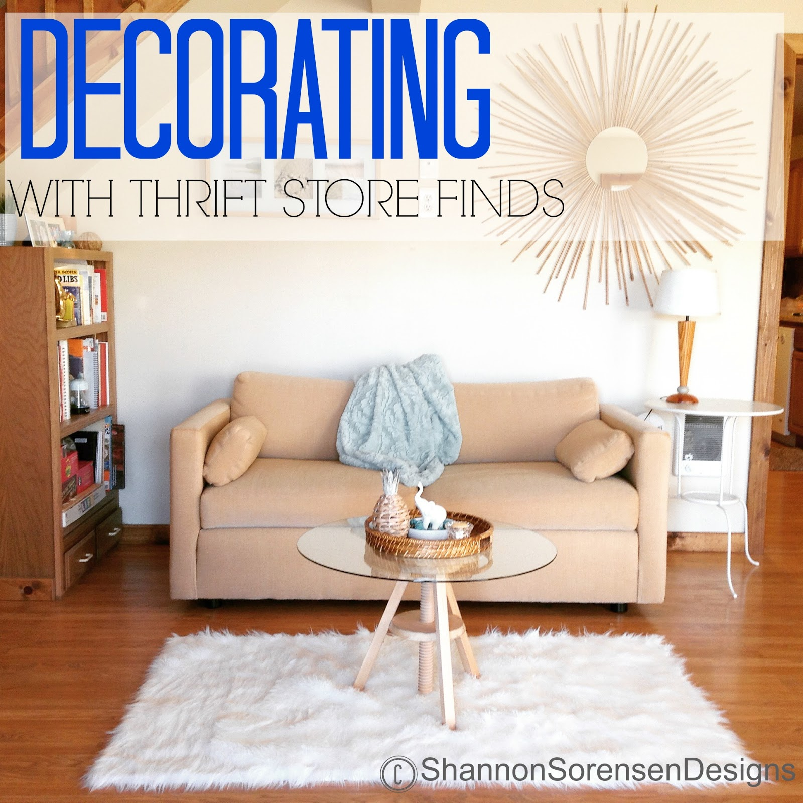 decorating with thrifted furniture and diy on a budget