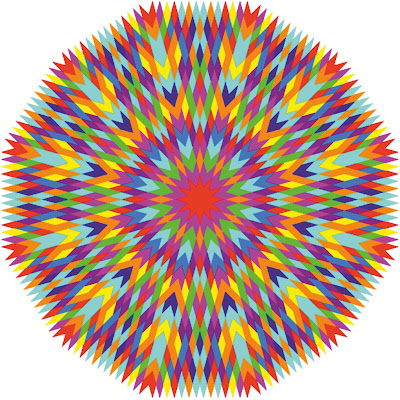 Мандала- это символ колеса жизни и смерти, космических процессов существова