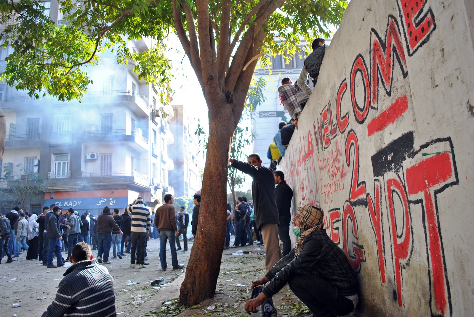 the egyptian revolution continues an interview with hossam el
