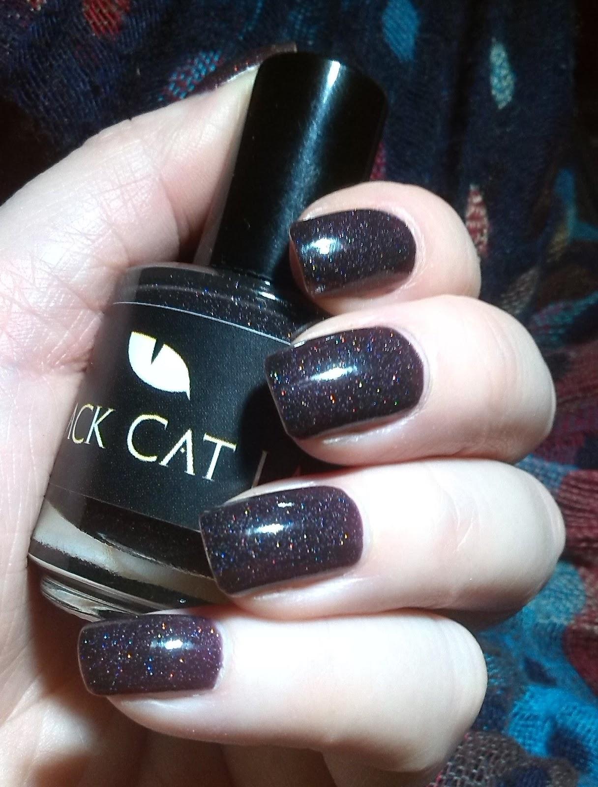 Black Cat Lacquer Magic Spells