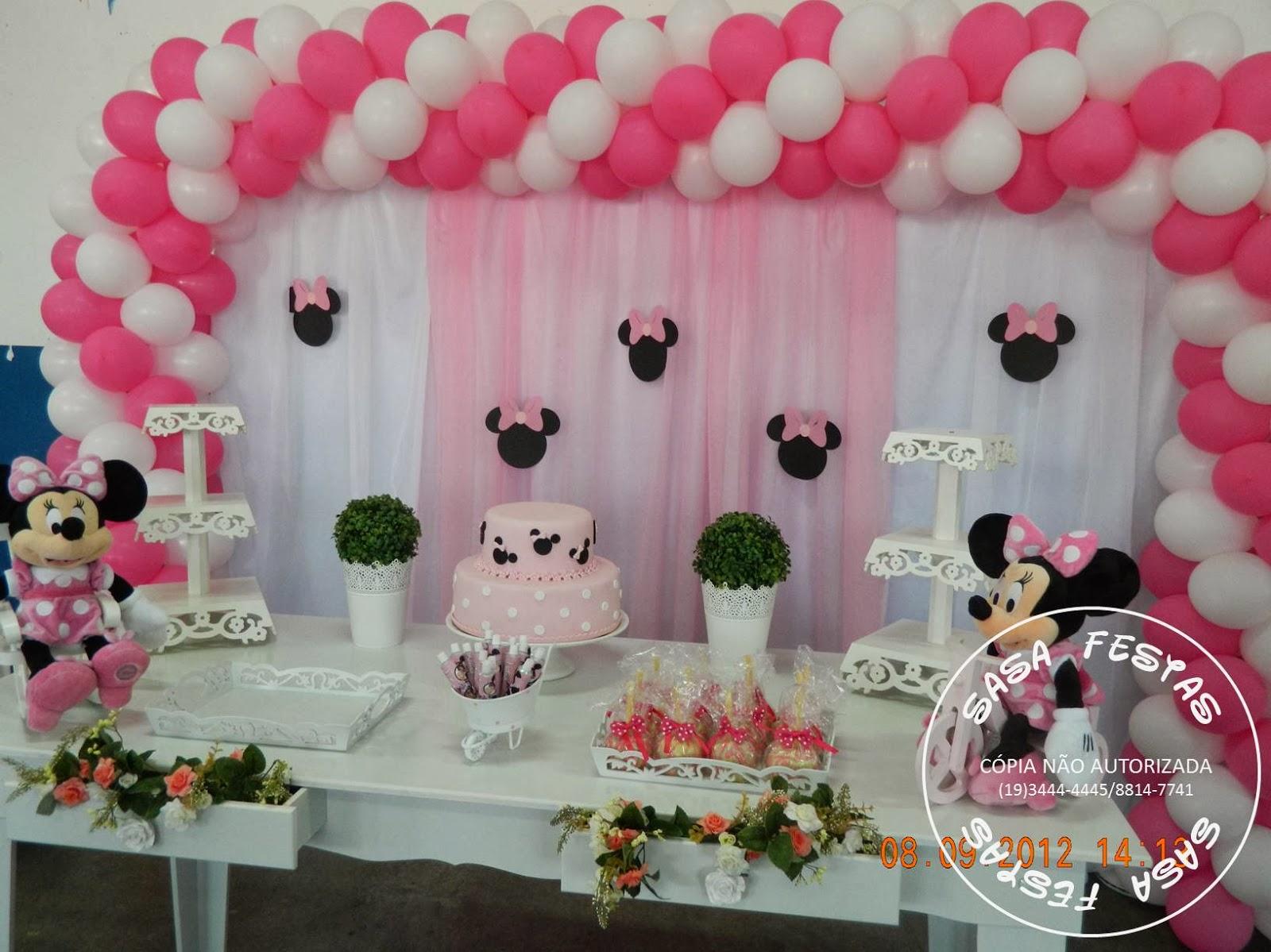 Ana Ottobeli Ideias aniversário da Minnie