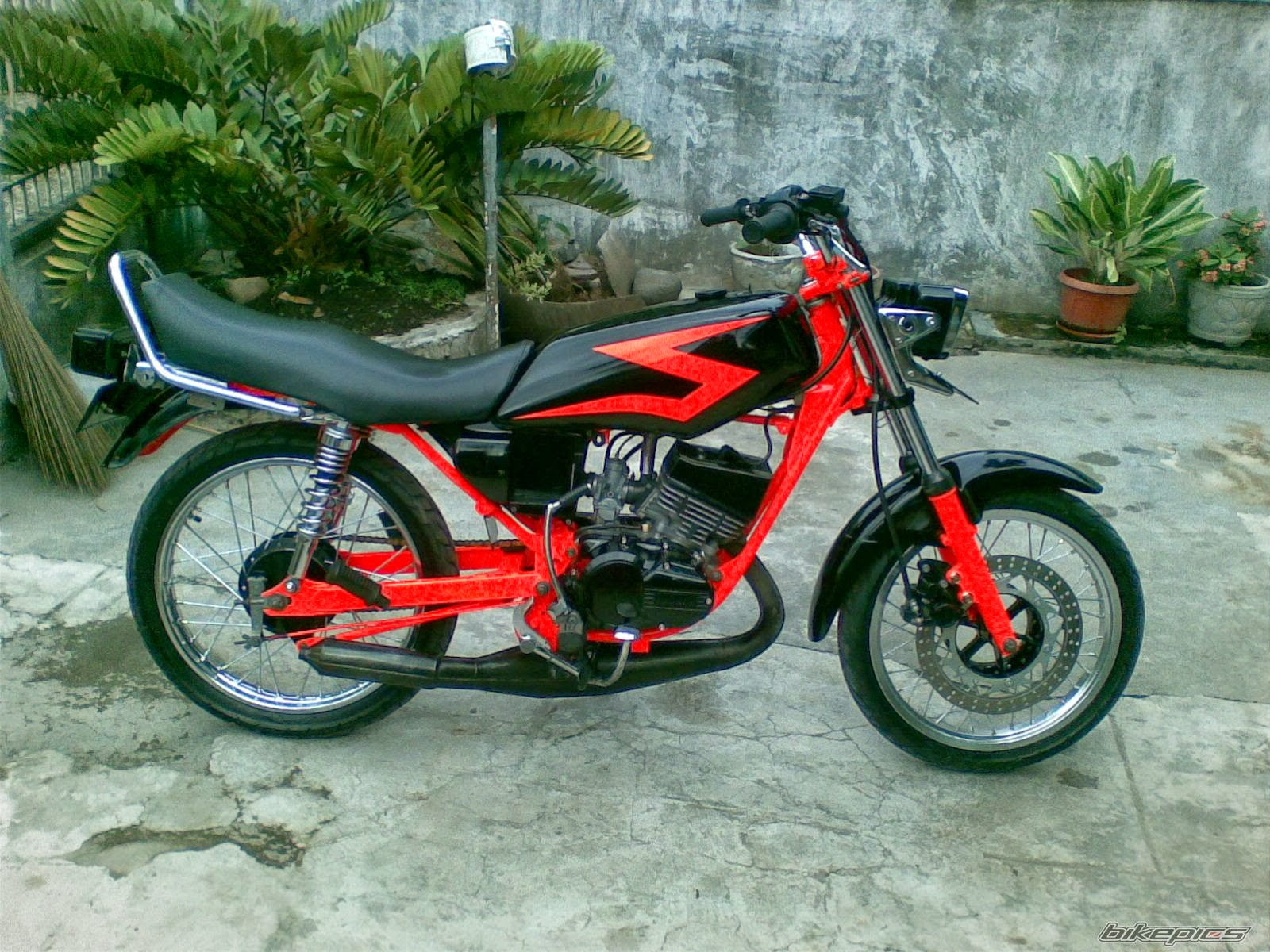 Modifikasi Motor dan Mobil: Modifikasi Keren Yamaha RX King ...