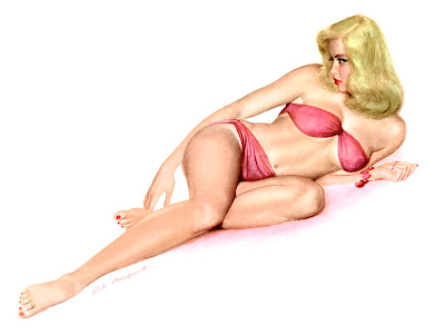 Al Moore pin up