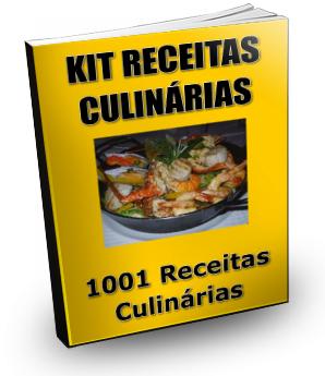 Comprar Kit Receitas Culinárias