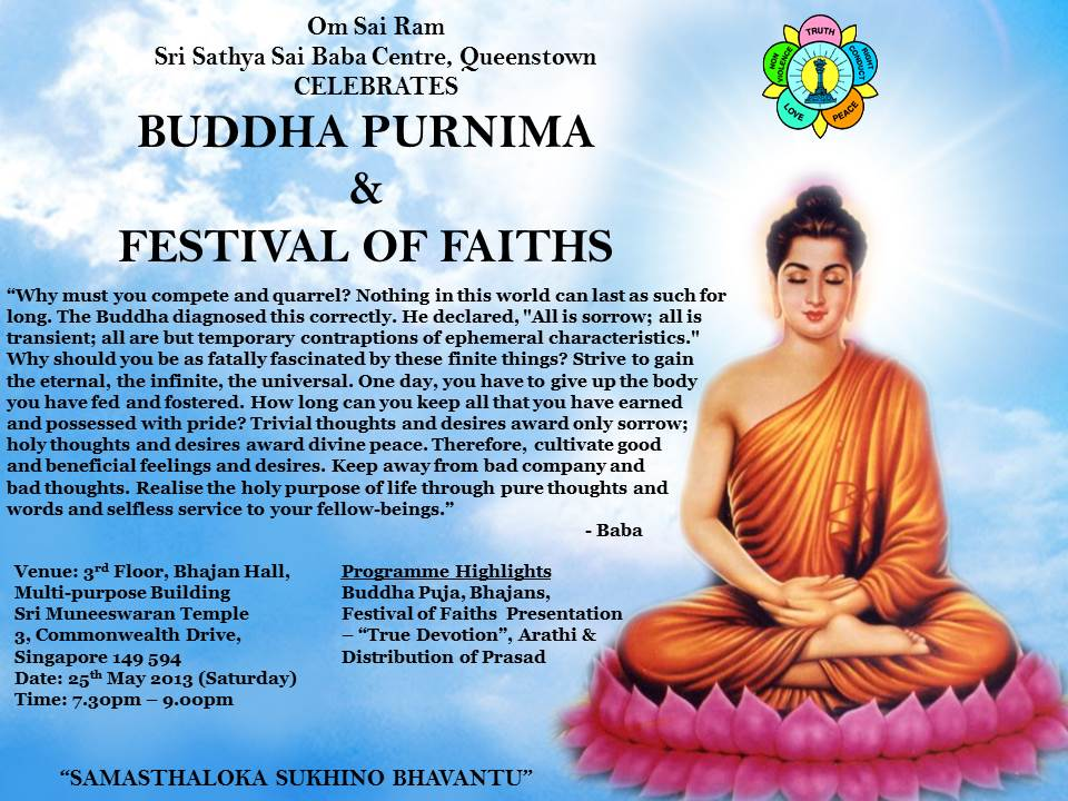 essay on buddha purnima Purnima (also called poornima, pournima, bangla: buddha poornima, the day of birth, enlightenment and passing away of gautama buddha, on a full moon day.