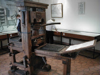 Gutenberg Press reproduction