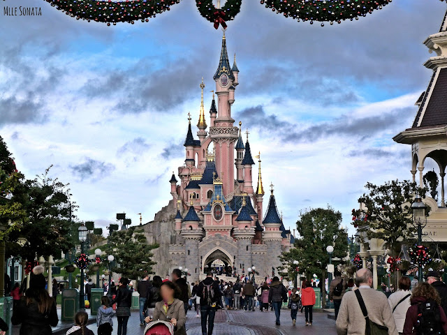 Château de la belle aux bois dormant à Disneyland Paris