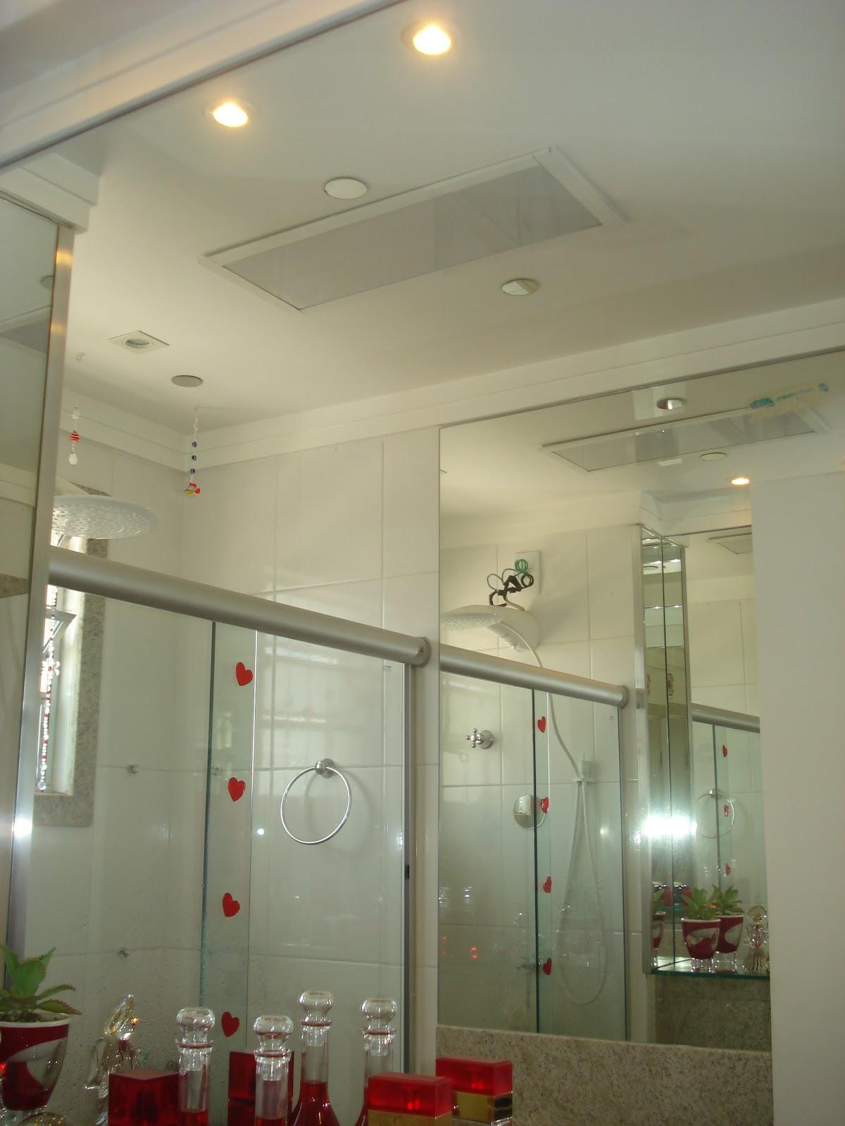 no teto para equilibrar energia dos banheiros Banheiro no Guá do #613B29 1200 1600
