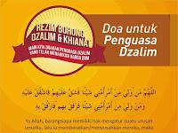 Doa untuk Penguasa yang Dzalim kepada Umat Islam