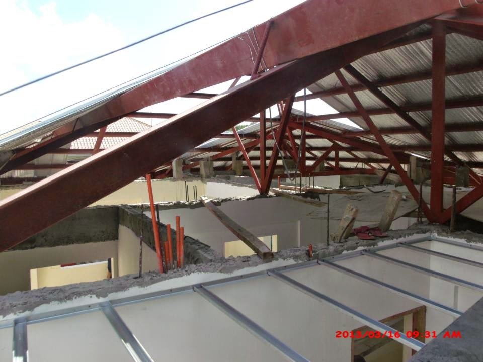 Glenville subdivision house construction project in for Balcony designs philippines
