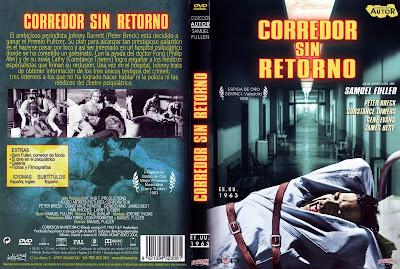 Corredor sin retorno | 1963 | Shock Corridor | Caratula | Cover DvD