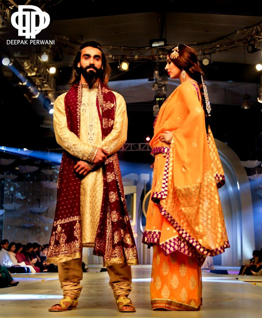 Deepak Perwani Collection at Pantene Bridal Couture Week 2013 | Deepak Perwani Couture ...