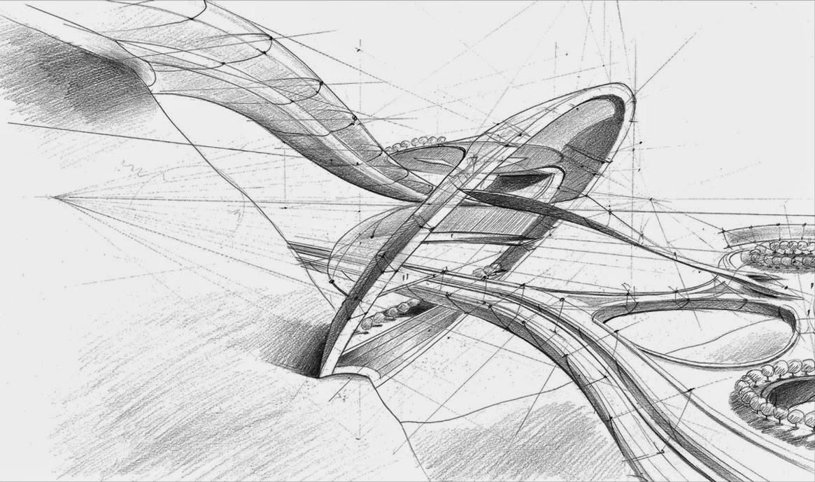 futuristic architecture sparks
