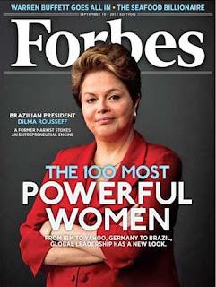 Dilma é capa de revista com as mais poderosas