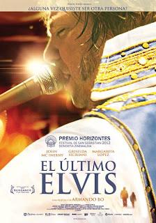 El último Elvis Poster