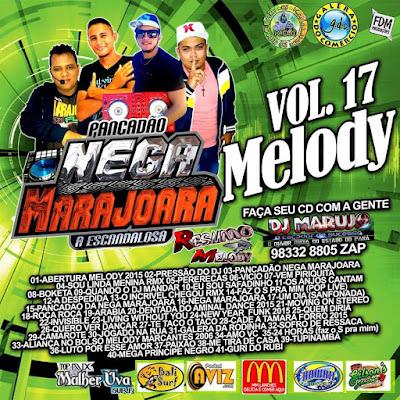CD PANCADAO NEGA MARAJOARA VOL.17 EXCLUSIVO 22/11/2015