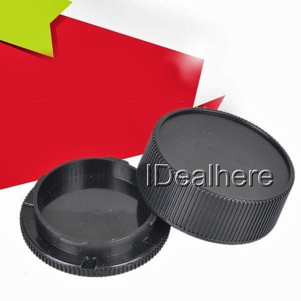 Plastic Front & Rear Lens Caps Cover for Leica M L/M Body and Lens