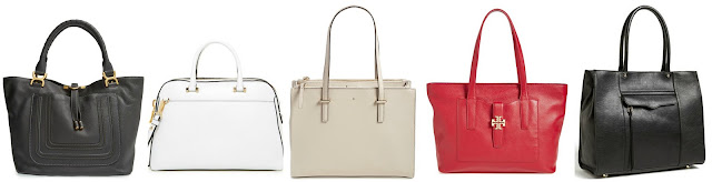 Here are five of the most popular designer handbags and five designer names listed below them. Do you know which designer goes with which bag? (You can use the tags, details, straps, etc to help you identify the designers' signatures.) Once you click on the designers' names below it will take you to a picture of their bag. Good luck! Milly | Chloe | Tory Burch | Rebecca Minkoff | Kate Spade